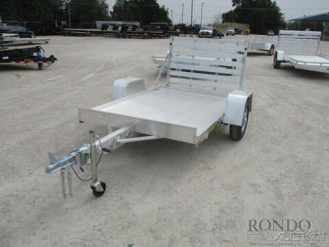 2022 Aluma Aluminum Single Axle Utility 6 for sale at Rondo Truck & Trailer in Sycamore IL