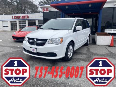 2016 Dodge Grand Caravan for sale at 1 Stop Auto in Norfolk VA