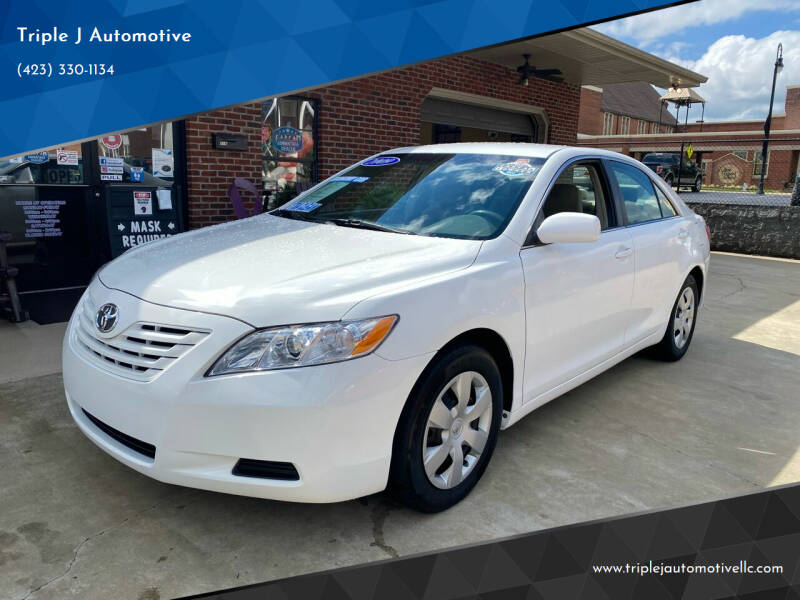 2009 Toyota Camry for sale at Triple J Automotive in Erwin TN