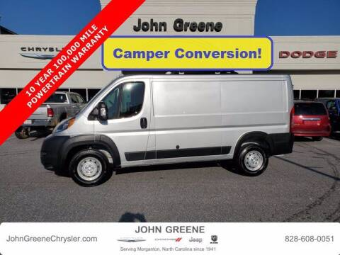 2019 RAM ProMaster Cargo for sale at John Greene Chrysler Dodge Jeep Ram in Morganton NC