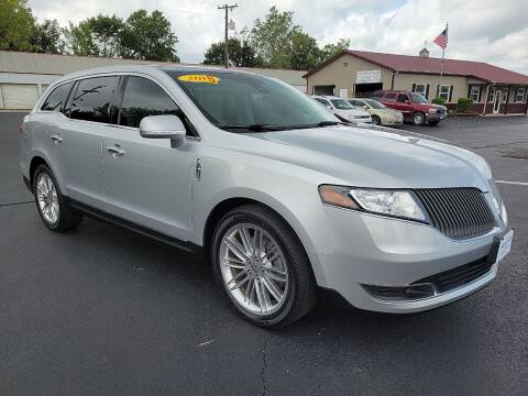 2015 Lincoln MKT for sale at Holland's Auto Sales in Harrisonville MO