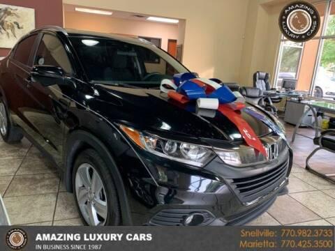 2019 Honda HR-V for sale at Amazing Luxury Cars in Snellville GA