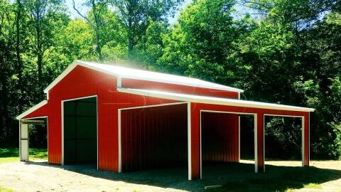2021 x Steel Buildings & Structures 42 Width x 26 Length for sale at Edwards Auto Outlet Inc. in Wilson NC