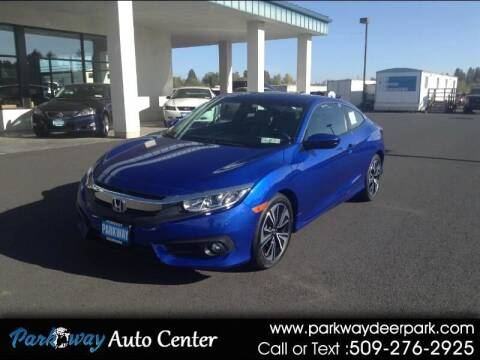 2017 Honda Civic for sale at PARKWAY AUTO CENTER AND RV in Deer Park WA