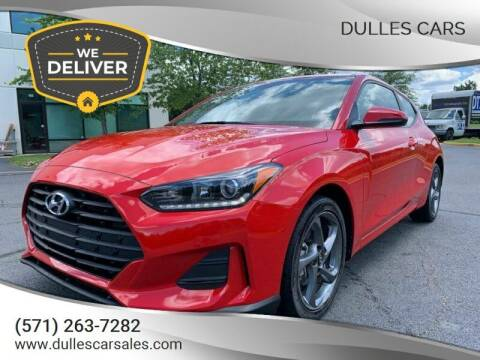 2019 Hyundai Veloster for sale at Dulles Cars in Sterling VA