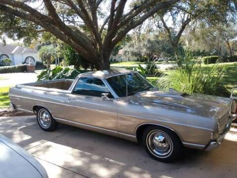 1969 Ford Ranchero for sale at Classic Car Deals in Cadillac MI
