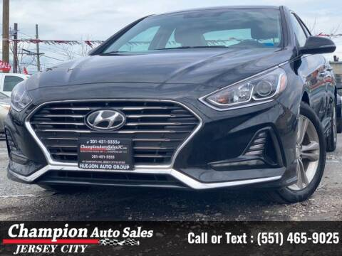 2018 Hyundai Sonata for sale at CHAMPION AUTO SALES OF JERSEY CITY in Jersey City NJ