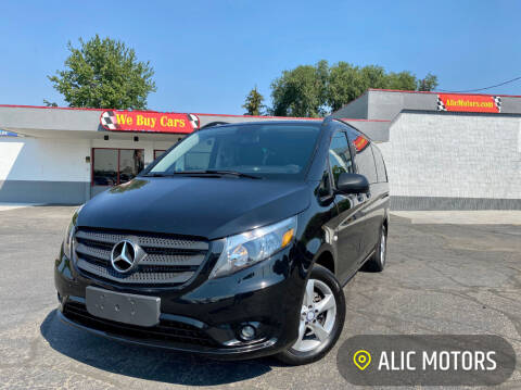 2016 Mercedes-Benz Metris for sale at ALIC MOTORS in Boise ID