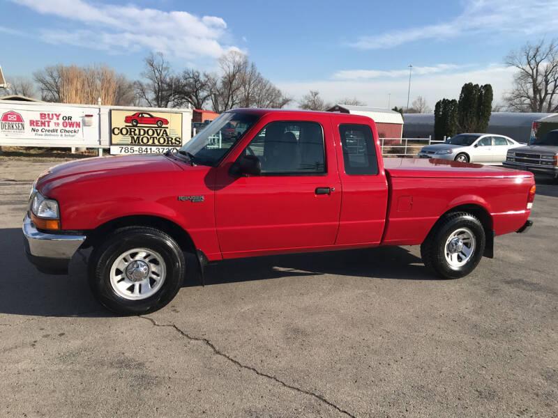 1999 Ford Ranger for sale at Cordova Motors in Lawrence KS