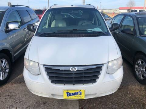 2007 Chrysler Town and Country for sale at Blakes Auto Sales in Rice Lake WI