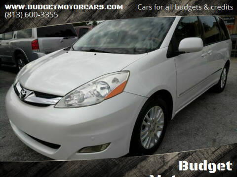 2008 Toyota Sienna for sale at Budget Motorcars in Tampa FL