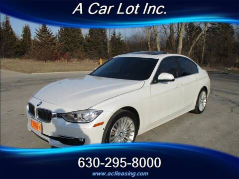 2015 BMW 3 Series for sale at A Car Lot Inc. in Addison IL