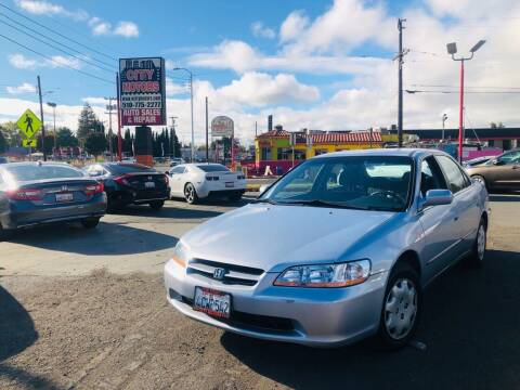 1998 Honda Accord for sale at City Motors in Hayward CA