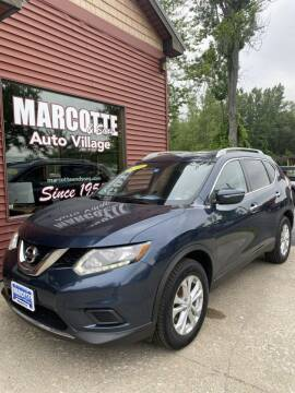 2015 Nissan Rogue for sale at Marcotte & Sons Auto Village in North Ferrisburgh VT