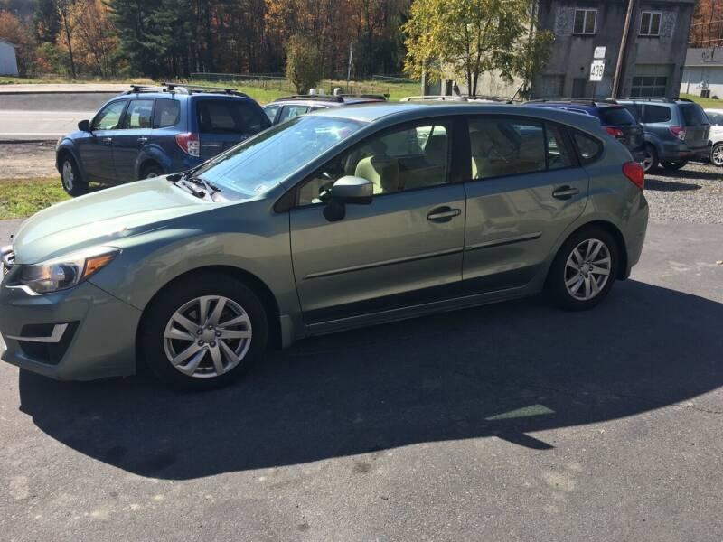 2015 Subaru Impreza for sale at Edward's Motors in Scott Township PA
