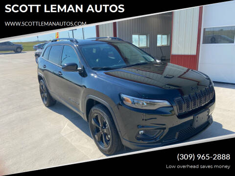 2020 Jeep Cherokee for sale at SCOTT LEMAN AUTOS in Goodfield IL
