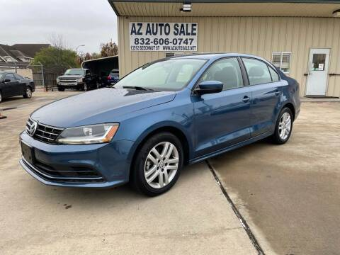 2018 Volkswagen Jetta for sale at AZ Auto Sale in Houston TX