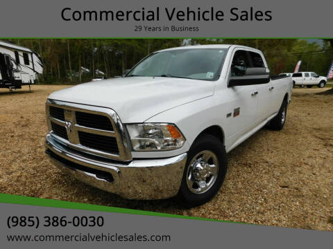 2012 RAM Ram Pickup 2500 for sale at Commercial Vehicle Sales in Ponchatoula LA