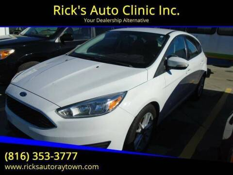 2015 Ford Focus for sale at Rick's Auto Clinic Inc. in Raytown MO