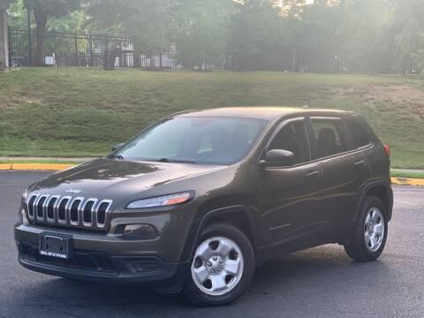 2015 Jeep Cherokee for sale at Diamond Automobile Exchange in Woodbridge VA