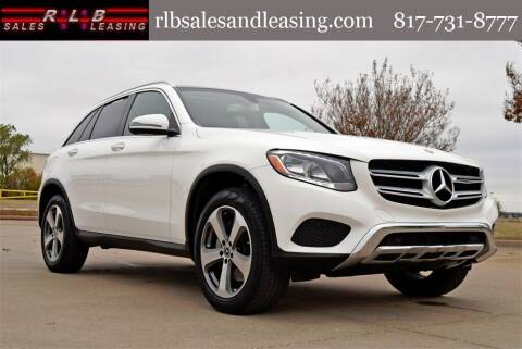 2019 Mercedes-Benz GLC for sale at RLB Sales and Leasing in Fort Worth TX