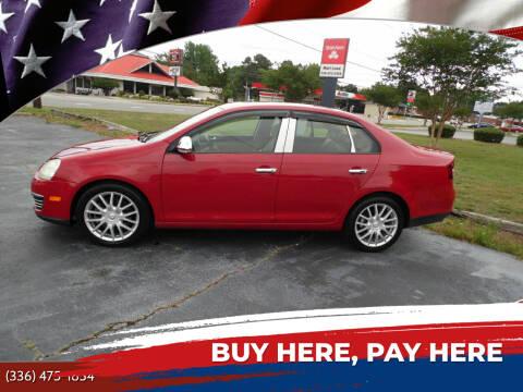2008 Volkswagen Jetta for sale at CAROLINA MOTORS in Thomasville NC