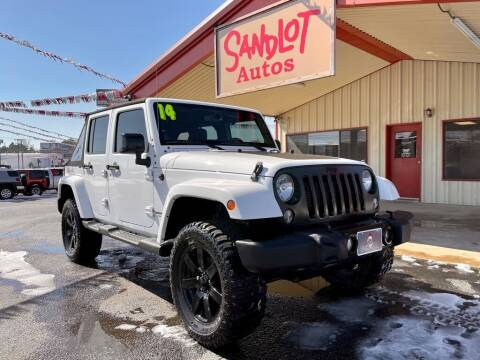 2014 Jeep Wrangler Unlimited for sale at Sandlot Autos in Tyler TX