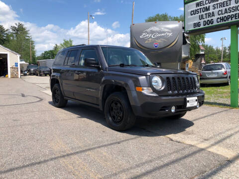 2015 Jeep Patriot for sale at Giguere Auto Wholesalers in Tilton NH
