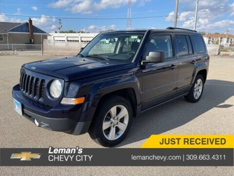 2014 Jeep Patriot for sale at Leman's Chevy City in Bloomington IL