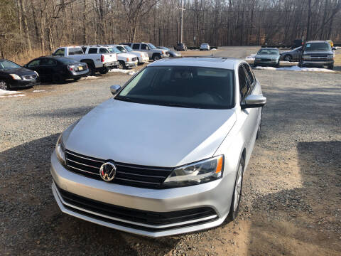 2015 Volkswagen Jetta for sale at J.W. Auto Sales INC in Flemington NJ