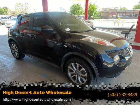 2013 Nissan JUKE for sale at High Desert Auto Wholesale in Albuquerque NM