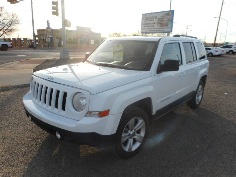 2011 Jeep Patriot for sale at AUGE'S SALES AND SERVICE in Belen NM