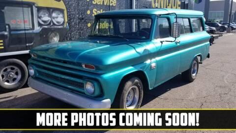 1966 Chevrolet Suburban for sale at UNIQUE SPECIALTY & CLASSICS in Mankato MN