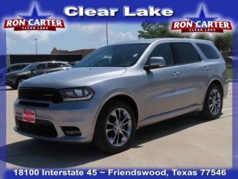 2019 Dodge Durango for sale at Ron Carter  Clear Lake Used Cars in Houston TX