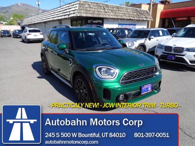 2021 MINI Countryman for sale at Autobahn Motors Corp in Bountiful UT
