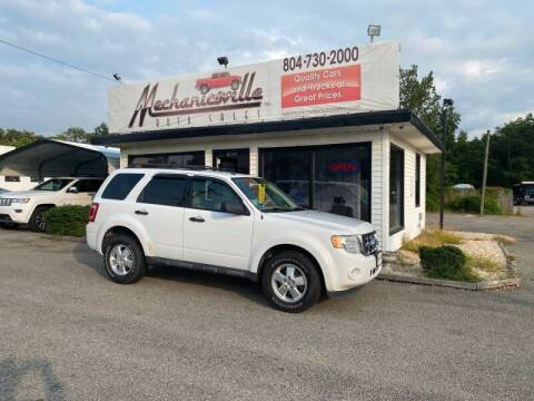 2011 Ford Escape for sale at Mechanicsville Auto Sales in Mechanicsville VA