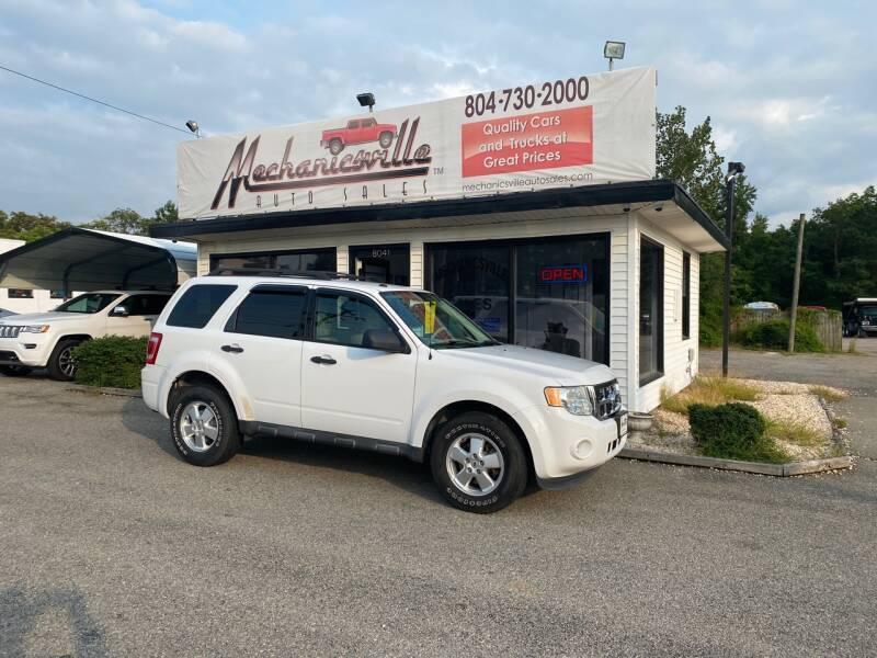 2011 Ford Escape for sale at Mechanicsville Auto Sales in Mechanicsville VA