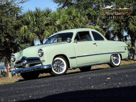 1949 Ford Custom for sale at SURVIVOR CLASSIC CAR SERVICES in Palmetto FL