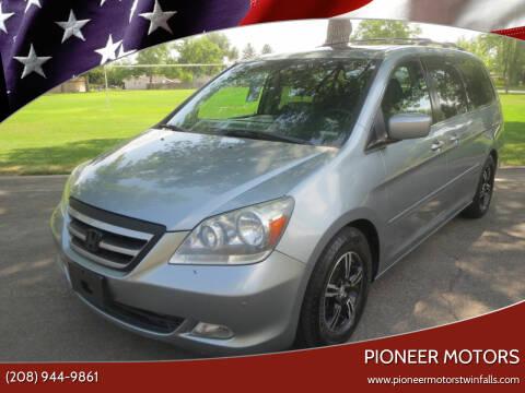 2007 Honda Odyssey for sale at Pioneer Motors in Twin Falls ID