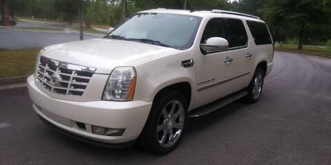 2007 Cadillac Escalade ESV for sale at Georgia Fine Motors Inc. in Buford GA