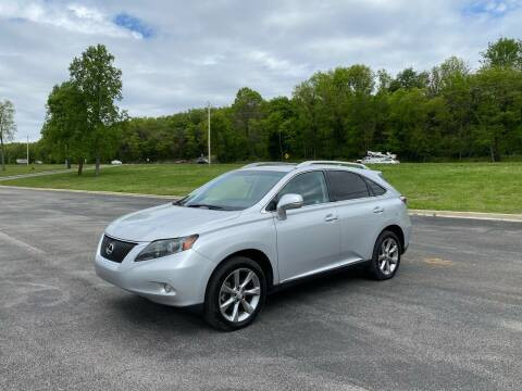 2012 Lexus RX 350 for sale at Tennessee Valley Wholesale Autos LLC in Huntsville AL