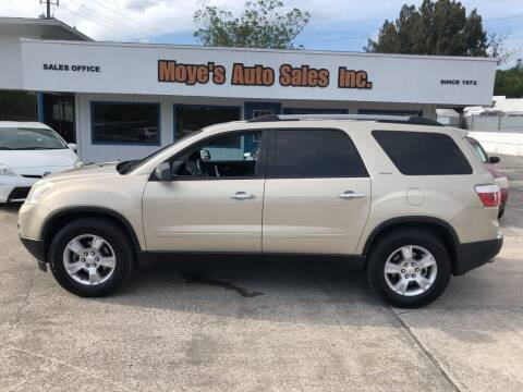 2012 GMC Acadia for sale at Moye's Auto Sales Inc. in Leesburg FL