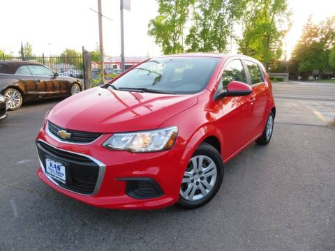 2020 Chevrolet Sonic for sale at KAS Auto Sales in Sacramento CA