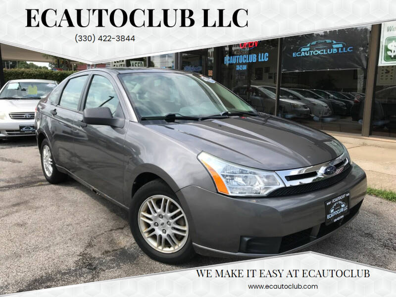 2010 Ford Focus for sale at ECAUTOCLUB LLC in Kent OH