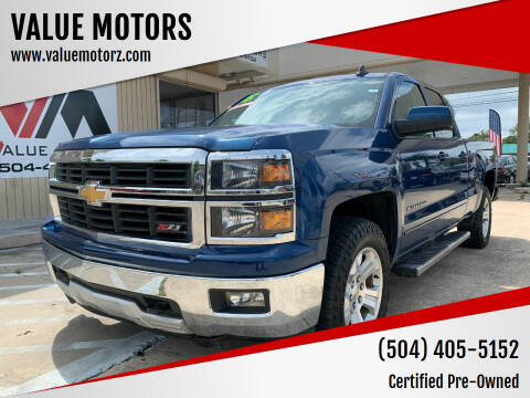 2015 Chevrolet Silverado 1500 for sale at VALUE MOTORS in Kenner LA