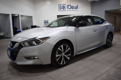 2018 Nissan Maxima for sale at iDeal Auto Imports in Eden Prairie MN