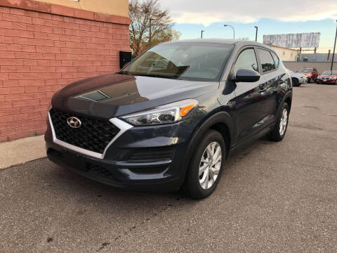 2019 Hyundai Tucson for sale at Nice Cars Auto Inc in Minneapolis MN