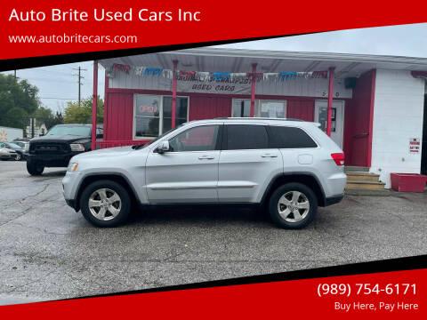 2011 Jeep Grand Cherokee for sale at Auto Brite Used Cars Inc in Saginaw MI