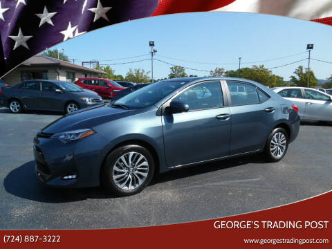 2017 Toyota Corolla for sale at GEORGE'S TRADING POST in Scottdale PA