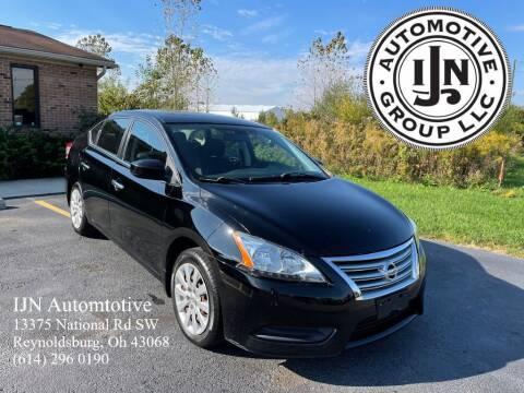 2013 Nissan Sentra for sale at IJN Automotive Group LLC in Reynoldsburg OH